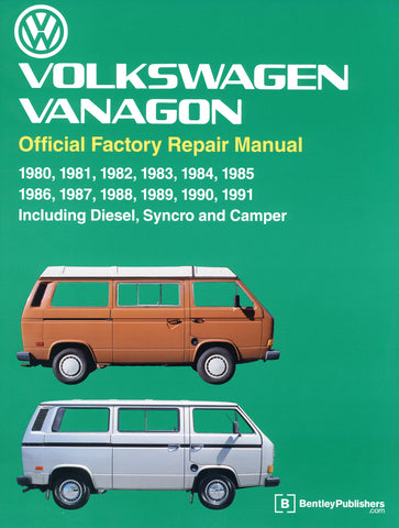 BENTLEY REPAIR MANUAL VANAGON
