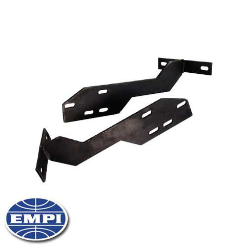 FRONT CONVERSION BUMPER BRACKET, BEETLE 68-73, TO EARLY BUMPER, SOLD PAIR