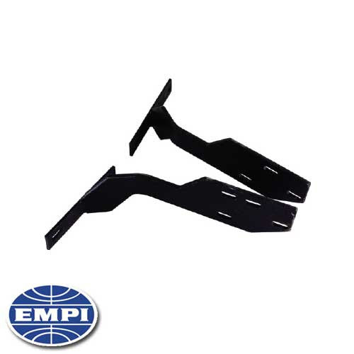 REAR CONVERSION BUMPER BRACKET, BEETLE 68-73, TO EARLY BUMPER, SOLD PAIR