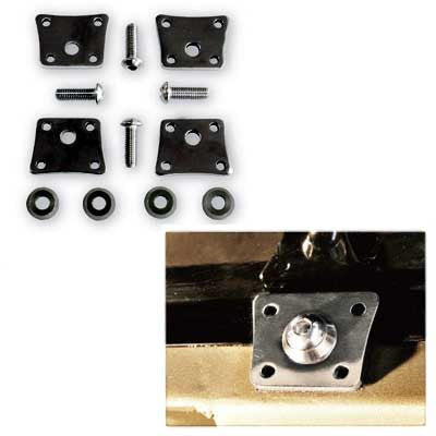 FUEL TANK CLAMP KIT ALUMINUM