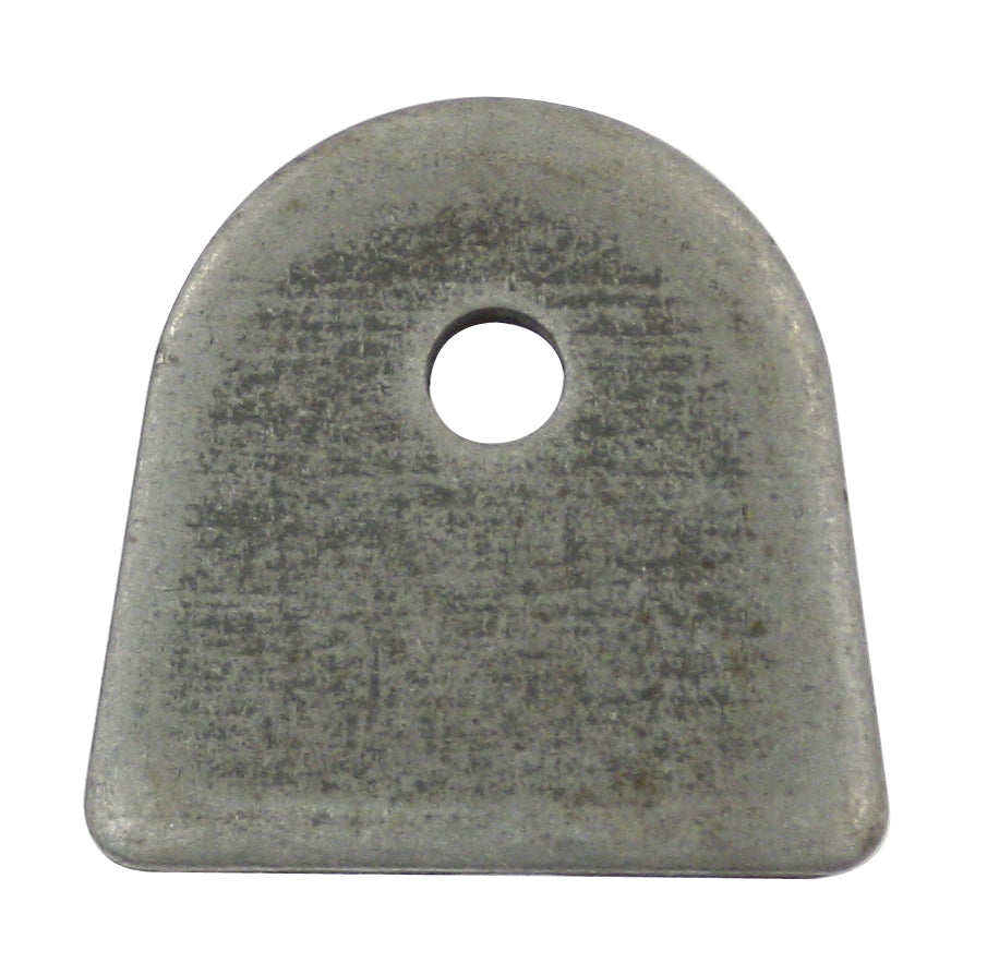 "FLAT MOUNTING TAB with 1/4"" HOLE"