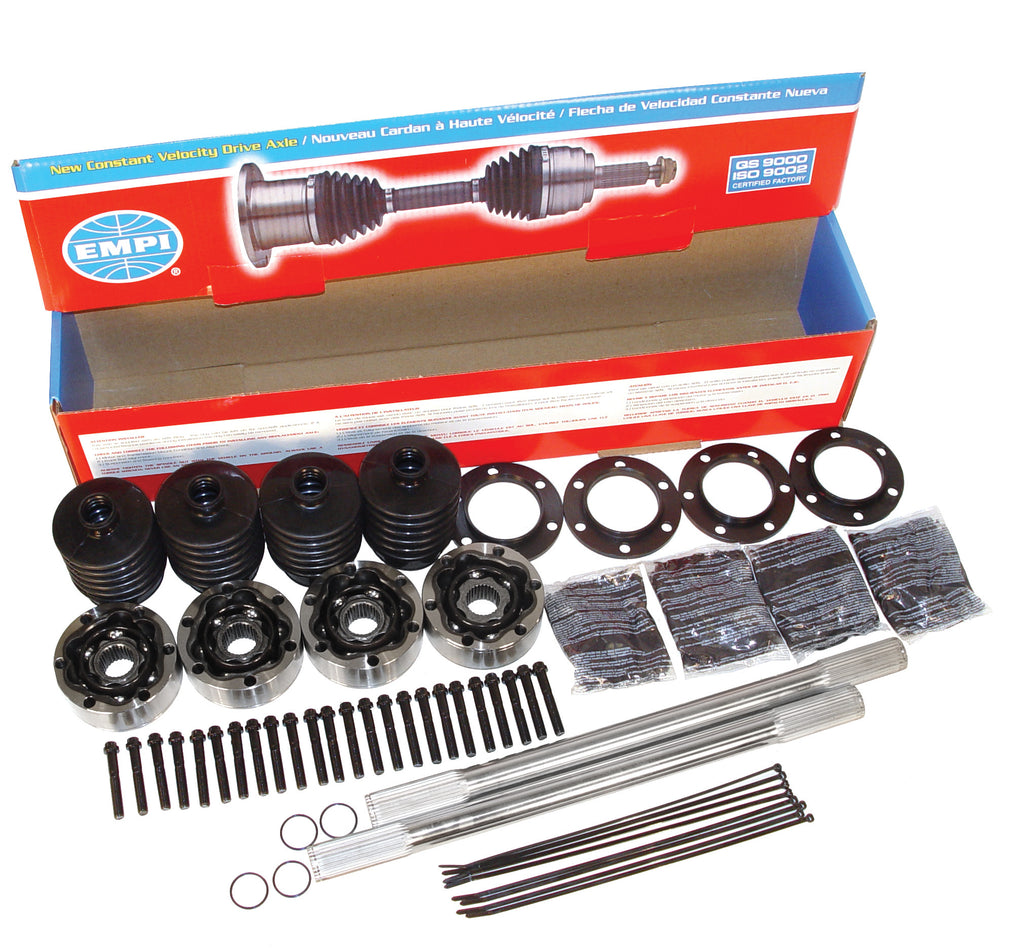 CHROMOLY I.R.S. RACE AXLE KITS - 930 X 19 1/4""