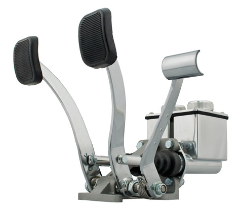 DUAL PEDAL ASSEMBLY, WITH ROLLER