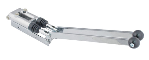 "3/4"" DUAL HANDLE TURNING BRAKE - ANGLED"