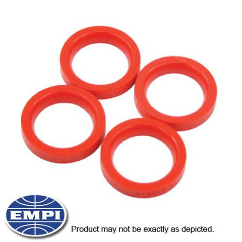 AXLE BEAM TUBE SEALS, URETHANE, TYPE W/BALL-JOINT, 4 PCS