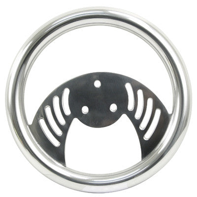 BILLET BATWING STEERING WHEEL