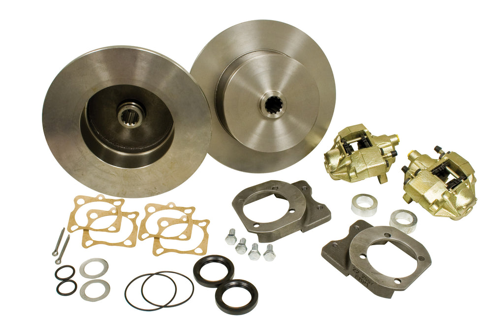 REAR DISC BRAKE KIT 68-72 I.R.S & SWING AXLE BLANK - NO EMERGENCY BRAKE