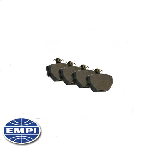BRAKE PADS FOR EMPI CALIPERS #22-2956-B AND 22-2957-B
