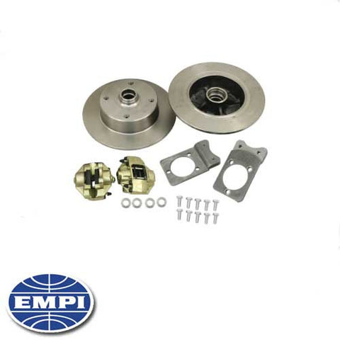 FRONT DISC BRAKE KIT Convert your 1968 and later Type 1 (excluding Super Beetle) from drum to disk brakes