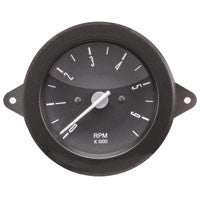 TACHOMETER, TYPE 2 BUS, 1976-1979 -BLACK FACE