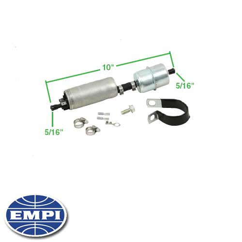 IN LINE FUEL PUMP W/ FILTER 12V IN-LINE