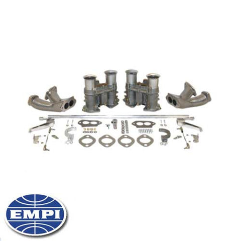 51mm EPC DUAL CARB KIT WITH RACE MANIFOLDS
