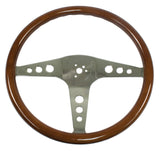 CLASSIC WOOD STEERING WHEEL - BUS