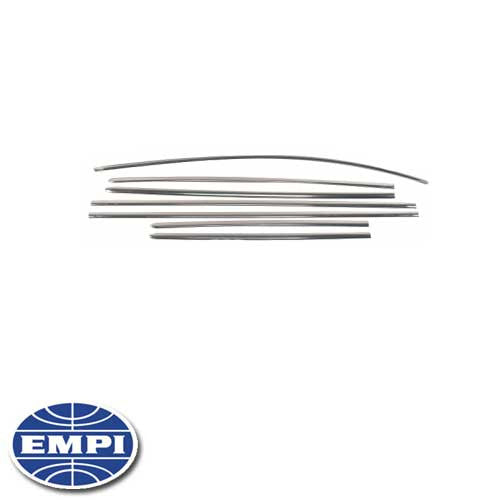 SIDE MOLDING KIT, 63-66 BEETLE