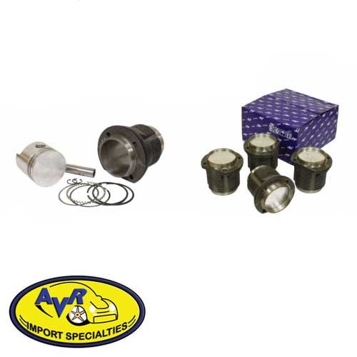 1700cc PISTON & CYLINDER SET, 88MM X 69MM, SLIP-IN