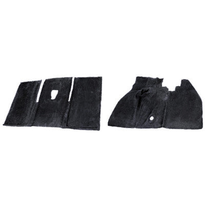 RUBBER FLOOR MATS, STD & SUPER BEETLE 68-72