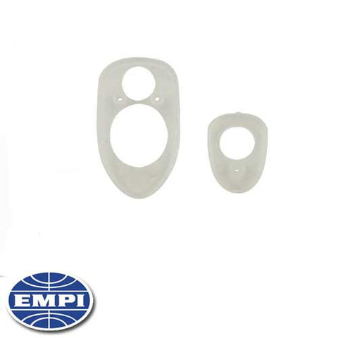 HOOD HANDLE SEALS, CLEAR, BEETLE 68-79, SET OF 2
