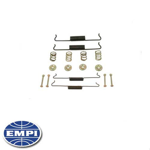 BRAKE HARDWARE KIT, FRONT, TYPE 1 65-77