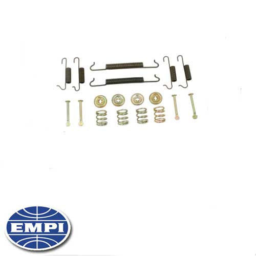 BRAKE HARDWARE KIT, FRONT, SUPER BEETLE 71-79