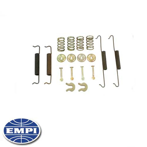 BRAKE HARDWARE KIT, REAR, 58-64