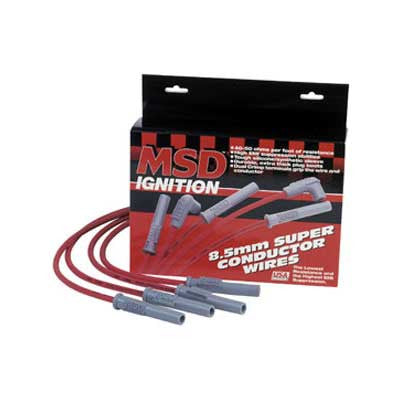 MSD SUPER CONDUCTOR SPARK PLUG WIRE SET
