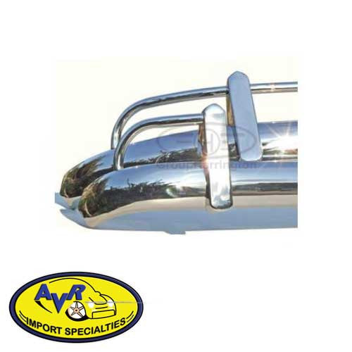 STAINLESS STEEL SPLIT WINDOW BUS BUMPER