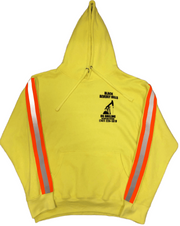 SAFETY GREEN OIL PUMP HOODIE