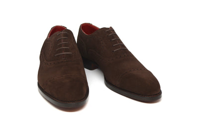 WILLIAM - BROWN SUEDE - CITY