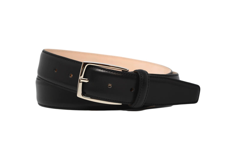 MATCHING BELT - SMOOTH BLACK CALF