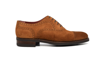 WILLIAM - TOBACCO SUEDE - 371