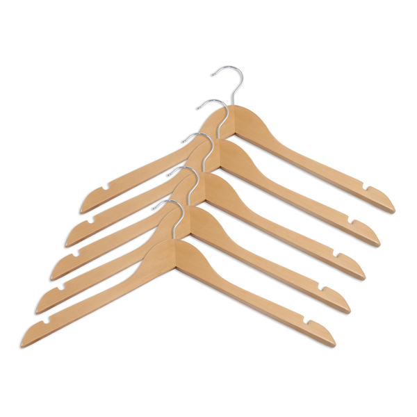 wood curve hangers for dresses