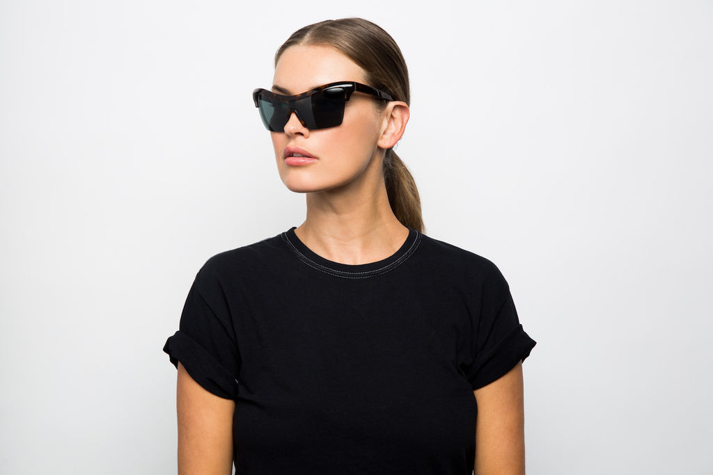 PASSPORT CONTROL BROWN - Hadid Eyewear