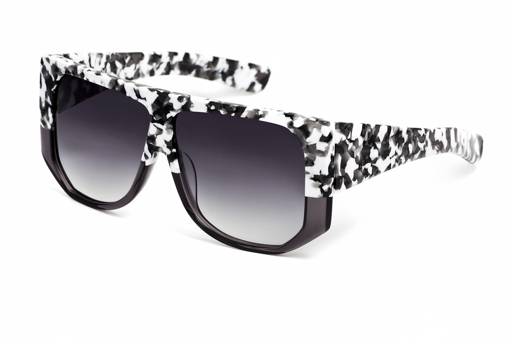 Hadid Eyewear | Frequent Flyer Sunglasses | White Camo - Hadid Eyewear