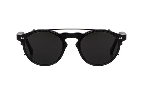 Hadid Eyewear | Captain Sunglasses | Black On Black (New) - Hadid Eyewear