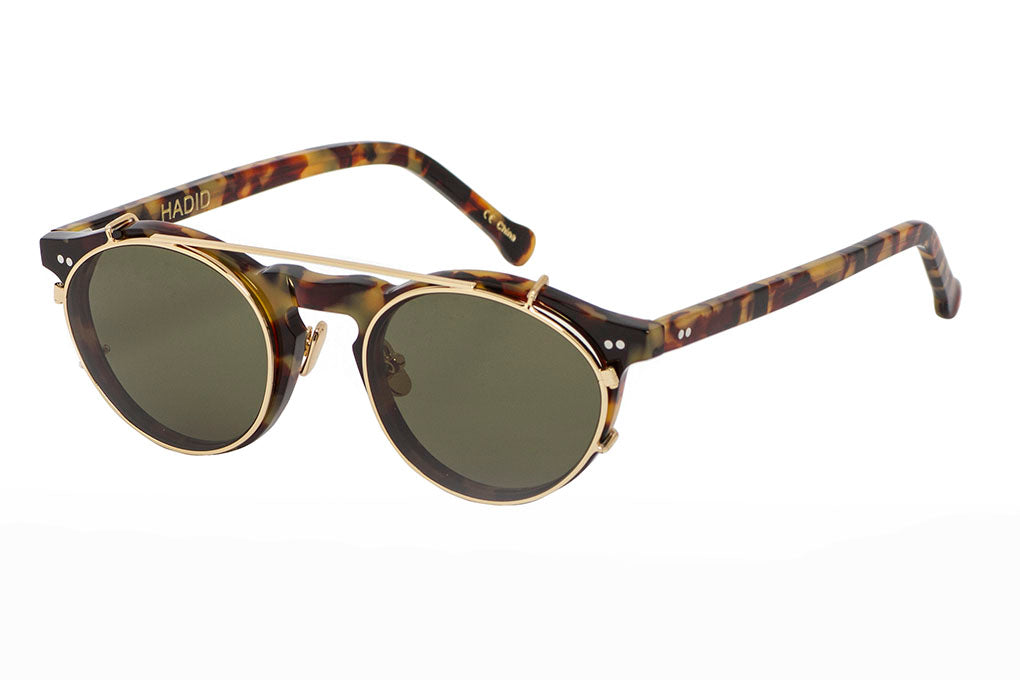 Hadid Eyewear | Captain Sunglasses | Tortoise (New) - Hadid Eyewear