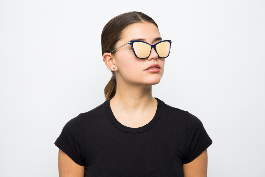 TIMELESS BLUE - Hadid Eyewear