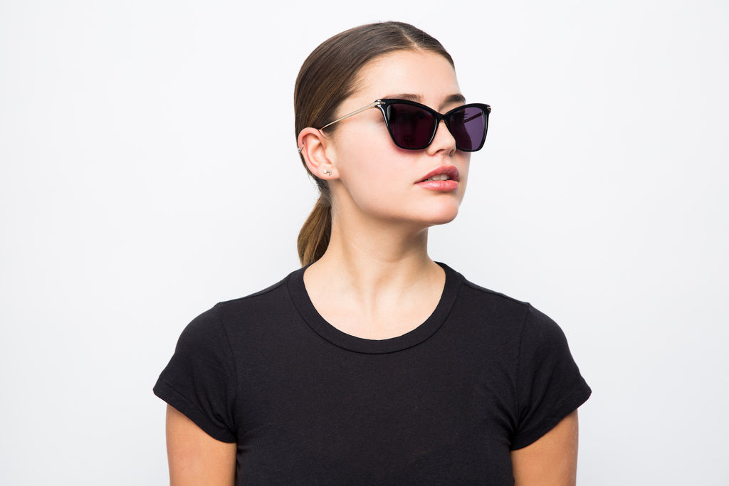 TIMELESS BLACK - Hadid Eyewear