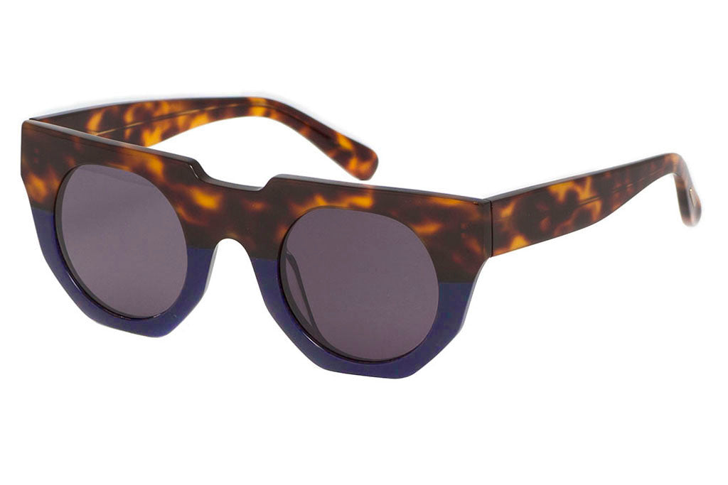 Hadid Eyewear | Artist Sunglasses | Tortoise and Blue (New) - Hadid Eyewear