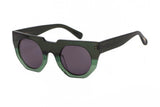 Hadid Eyewear | Artist Sunglasses | Green on Green (New) - Hadid Eyewear