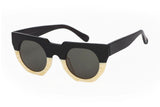 Hadid Eyewear | Artist Sunglasses | Black and Cream (New)