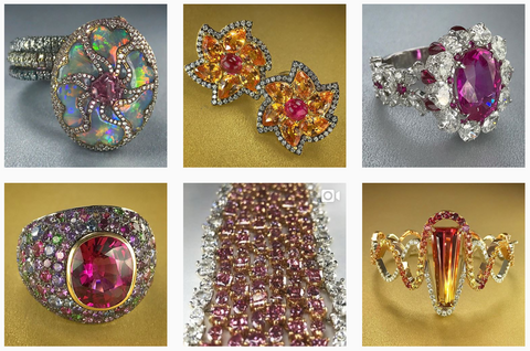 Gem Obsessed Instagram Account