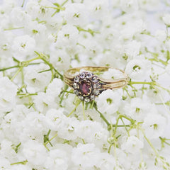 Staged Product Photography_Ruby Ring