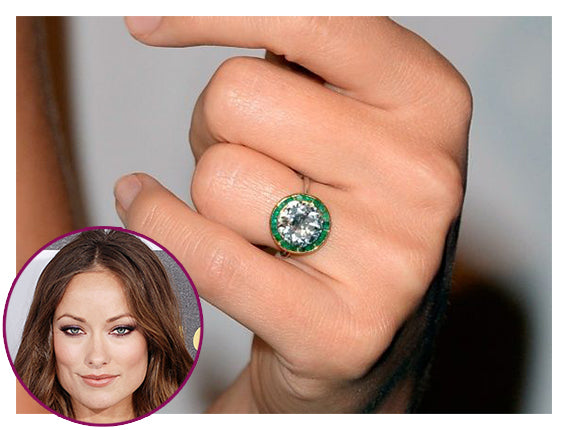 7df123784 5 Celebrities With Beautiful & Authentic Vintage Engagement Rings ...
