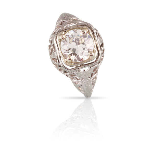 Art Deco Diamond Ring | The Patricia