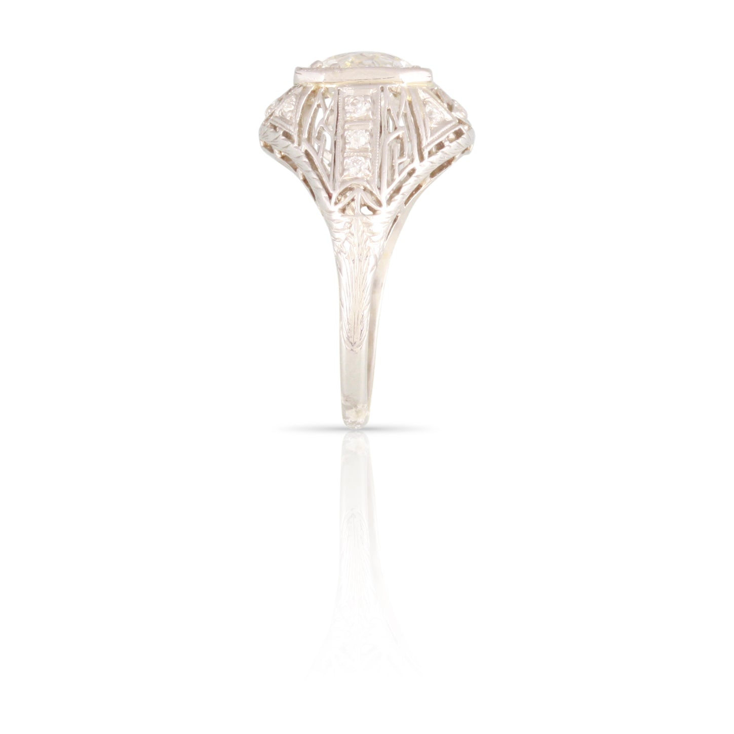 Art Deco Diamond Ring | The Geraldine