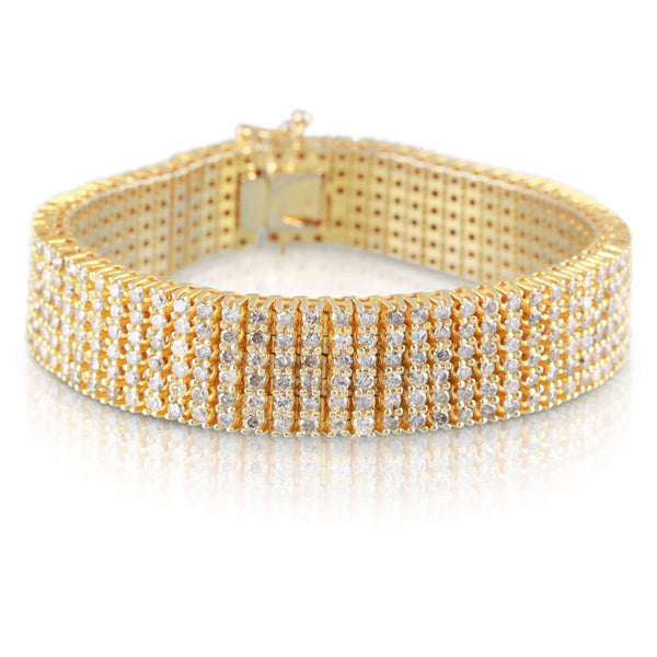 Diamond and Gold Bracelet | The Benjamin