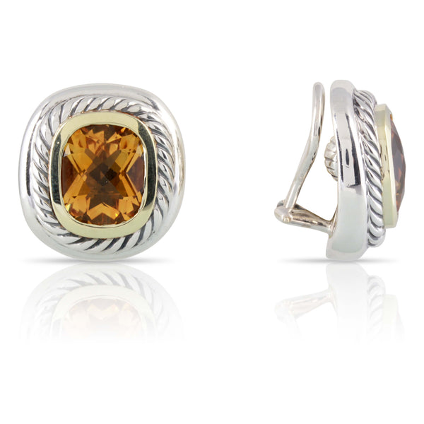 David Yurman Citrine Earrings | The Dakota