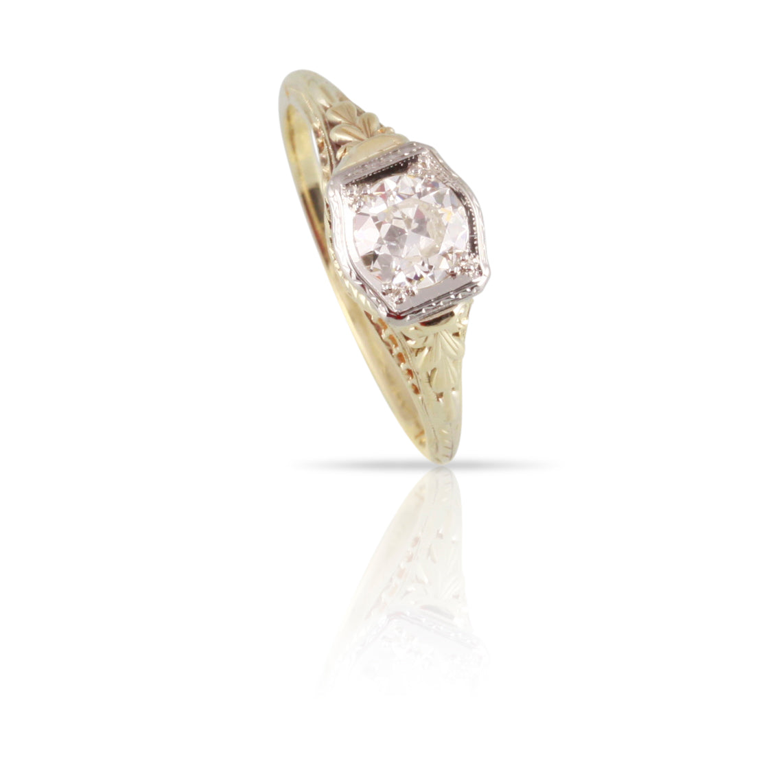 Art Deco Diamond Ring | The Hazel