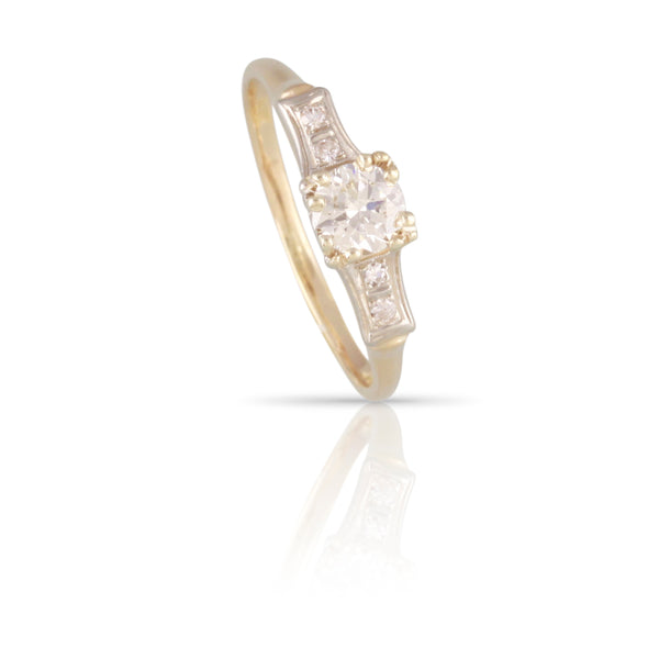 Art Deco Diamond Ring | The Kinney
