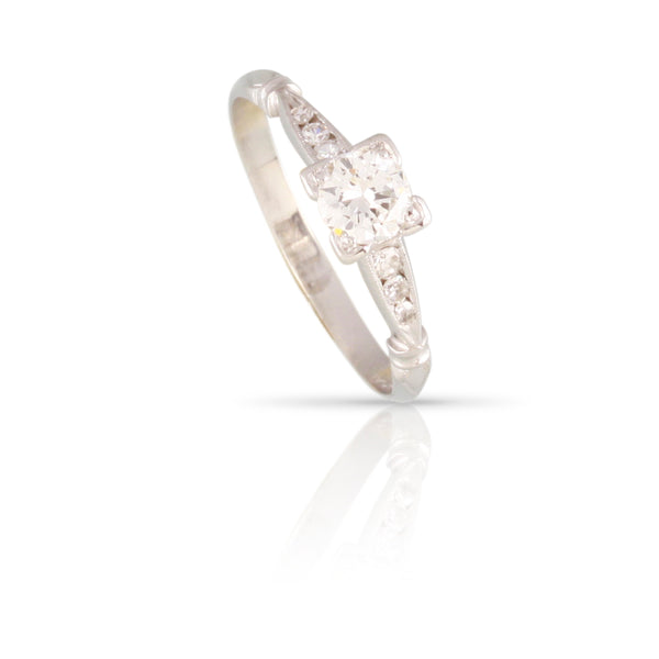 Art Deco Diamond Ring | The Deana